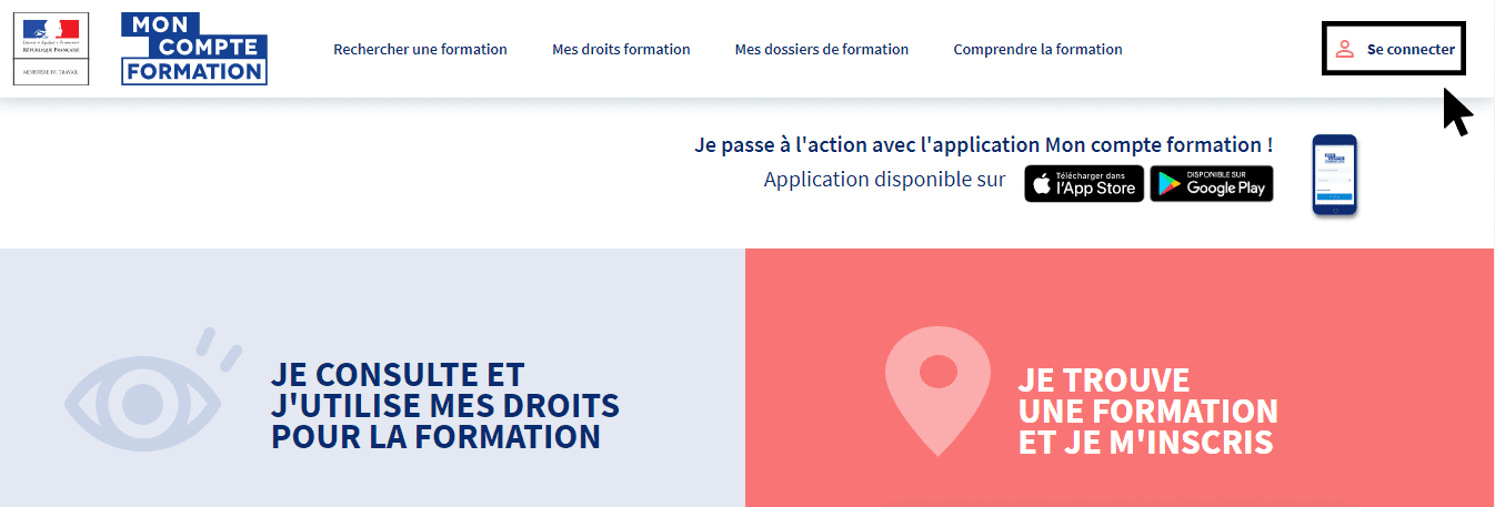 Formation finançable CPF Mon Compte Formation